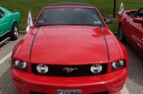 Tim Lemley's Mustang Convertible